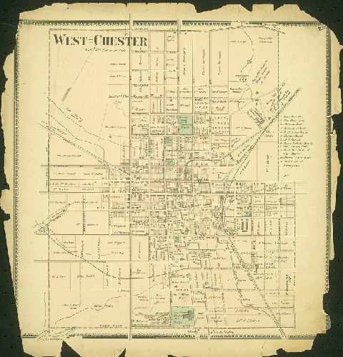 west chester old map