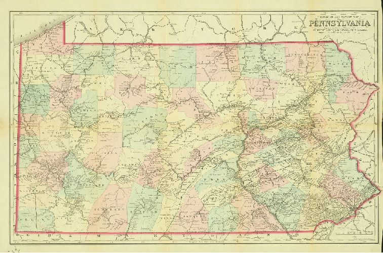GeoHistory Resources Greater Philadelphia GeoHistory Network - Map of us railroads in 1850