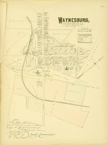 WHK1883.ChesterCounty.078.Waynesburg geohistory resources greater philadelphia geohistory network  at crackthecode.co
