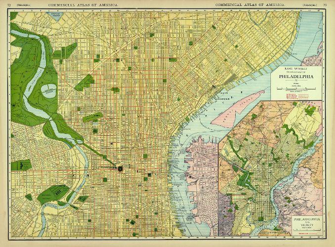 GeoHistory Resources Greater Philadelphia GeoHistory Network - Philadelphia map
